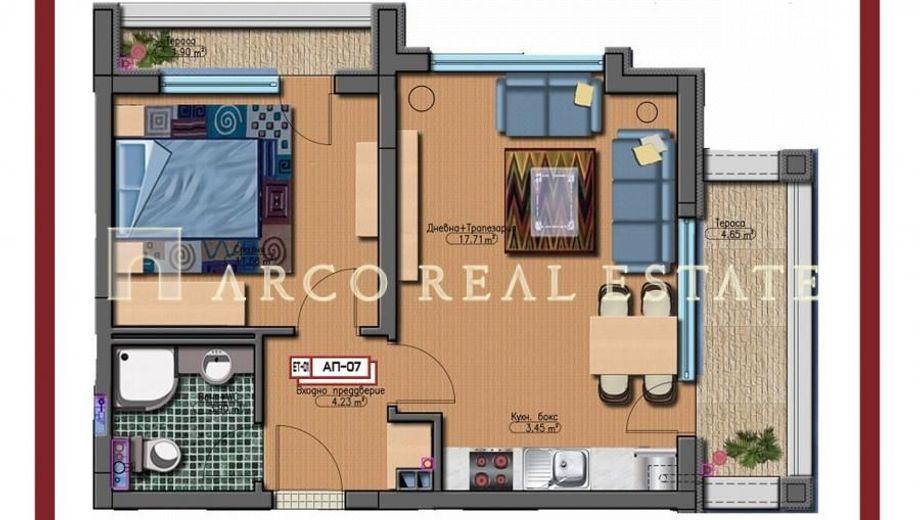двустаен апартамент софия hkybjnj4