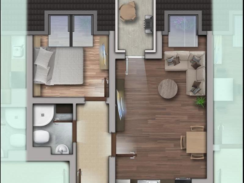 двустаен апартамент софия hm6drar3
