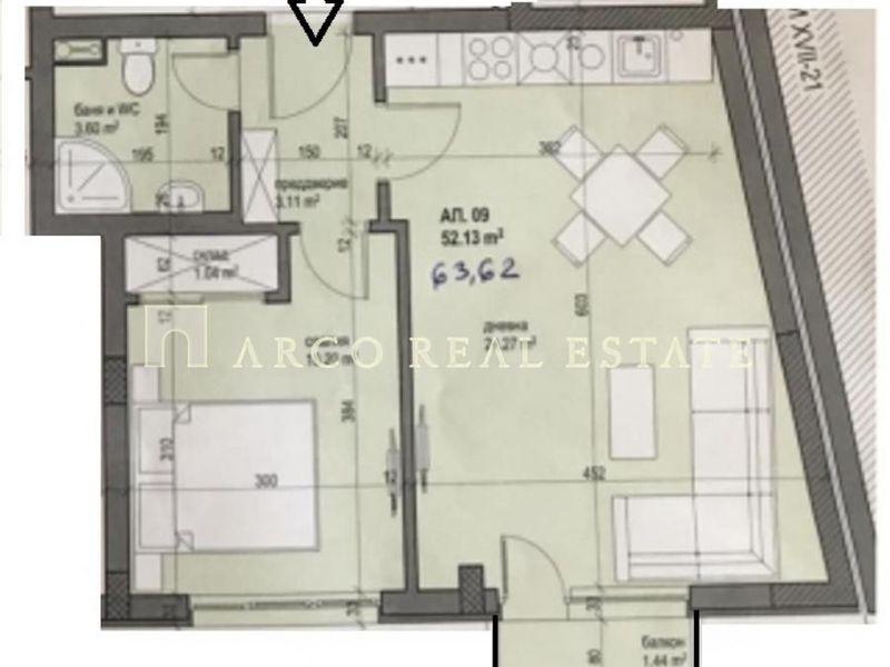 двустаен апартамент софия hph1sdfu