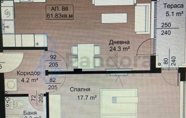 двустаен апартамент софия hv6vxkq4