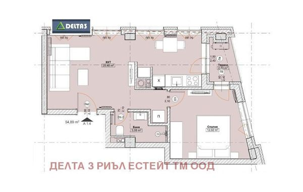 двустаен апартамент софия j5da5hss
