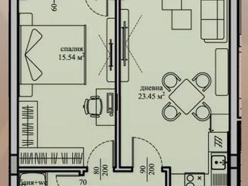 двустаен апартамент софия jbvtx1xd