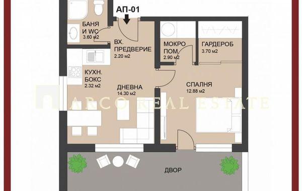 двустаен апартамент софия jh77yt7f