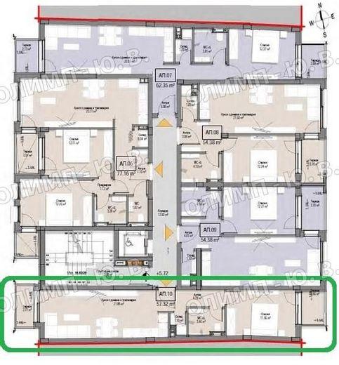 двустаен апартамент софия jqqfj7na