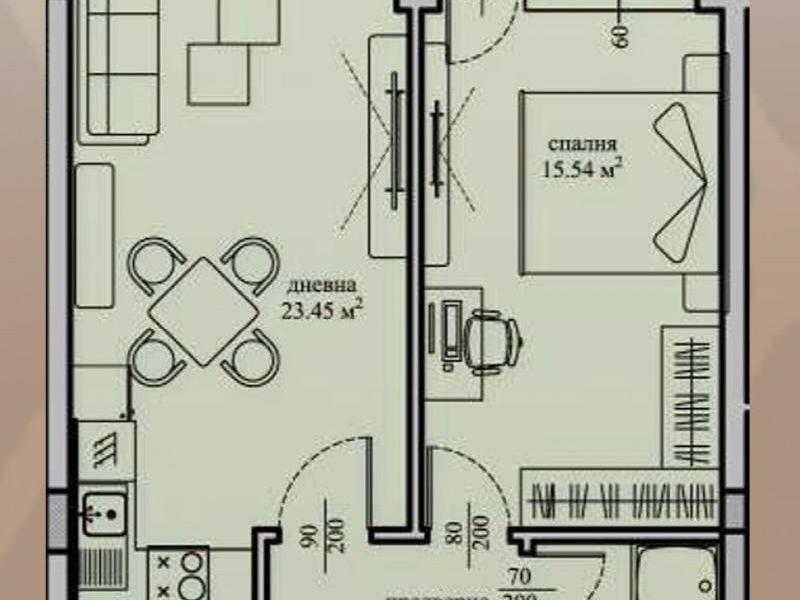 двустаен апартамент софия jrs7x7w1