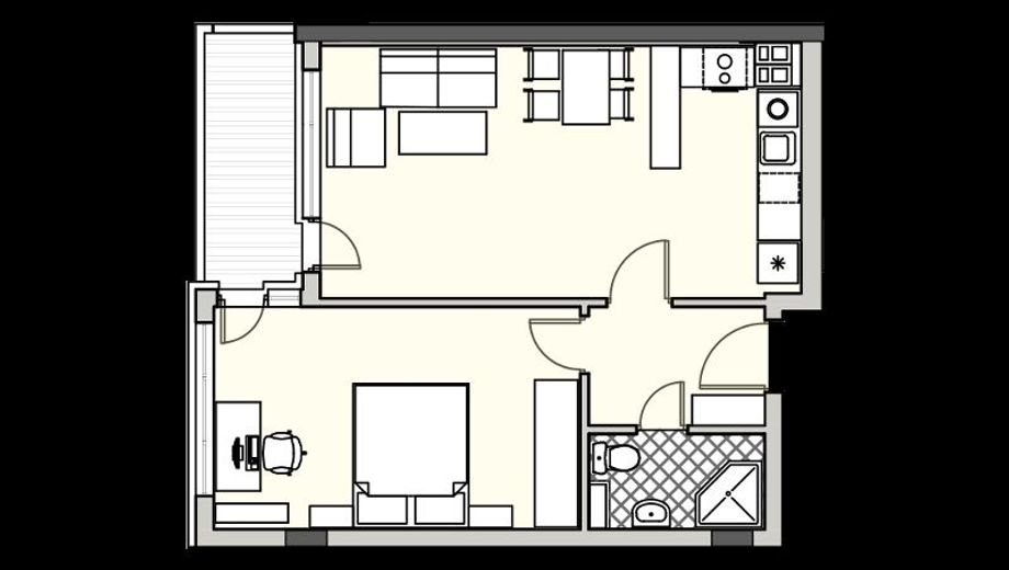 двустаен апартамент софия k1wn8ktg
