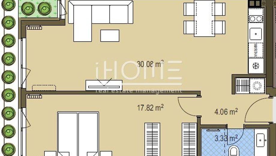двустаен апартамент софия k2ljp9td