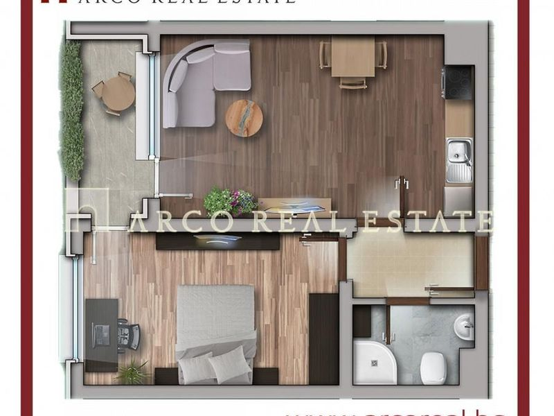 двустаен апартамент софия kmn47d1k