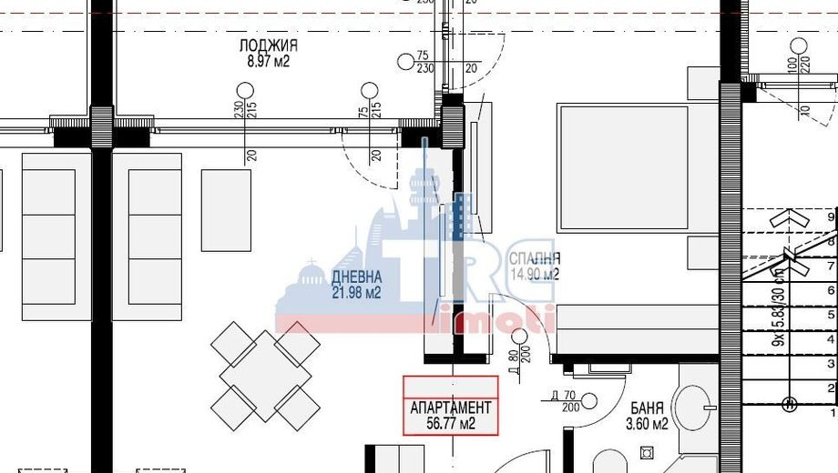двустаен апартамент софия kmts4fp9