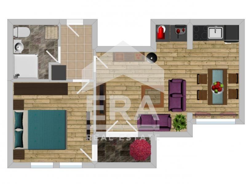 двустаен апартамент софия kqdyap1f