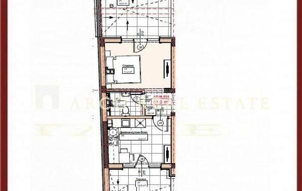 двустаен апартамент софия ktx8d2u9