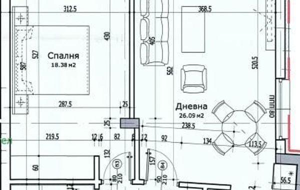 двустаен апартамент софия l9p4e968