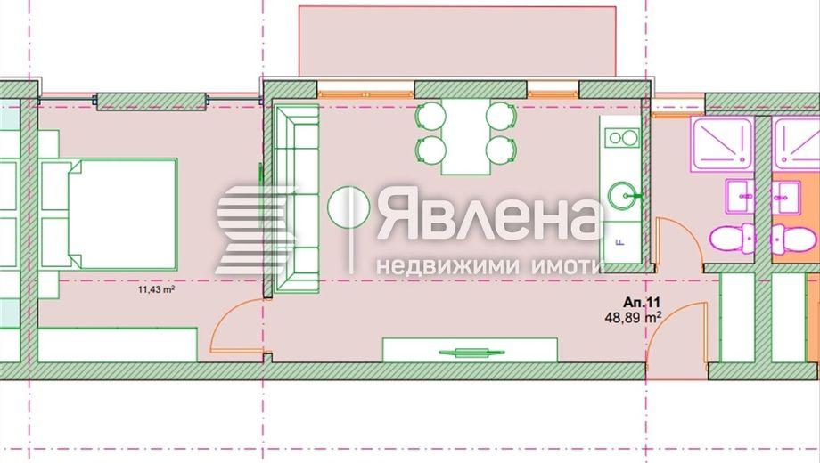 двустаен апартамент софия lqfmbagf
