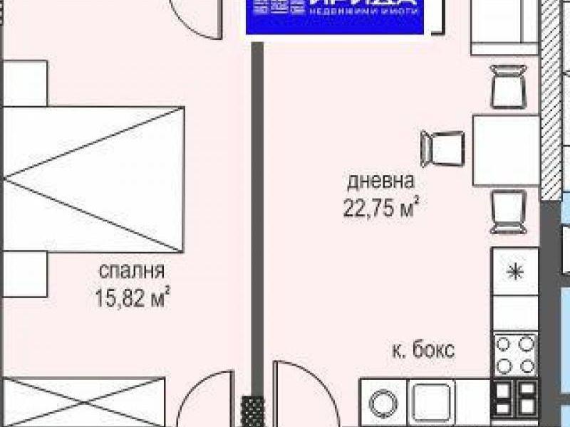 двустаен апартамент софия mjbk9ce4
