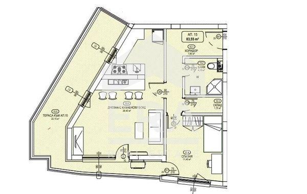 двустаен апартамент софия mr5eb8fs