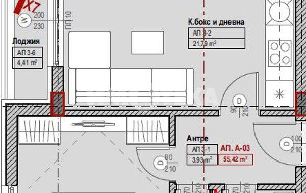 двустаен апартамент софия mr6xxx6a