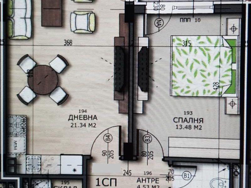 двустаен апартамент софия mvemcuh1