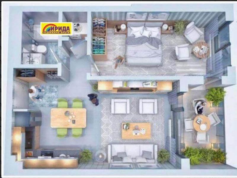 двустаен апартамент софия ncbnj831