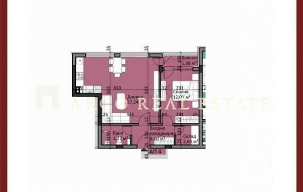 двустаен апартамент софия nglw1s11