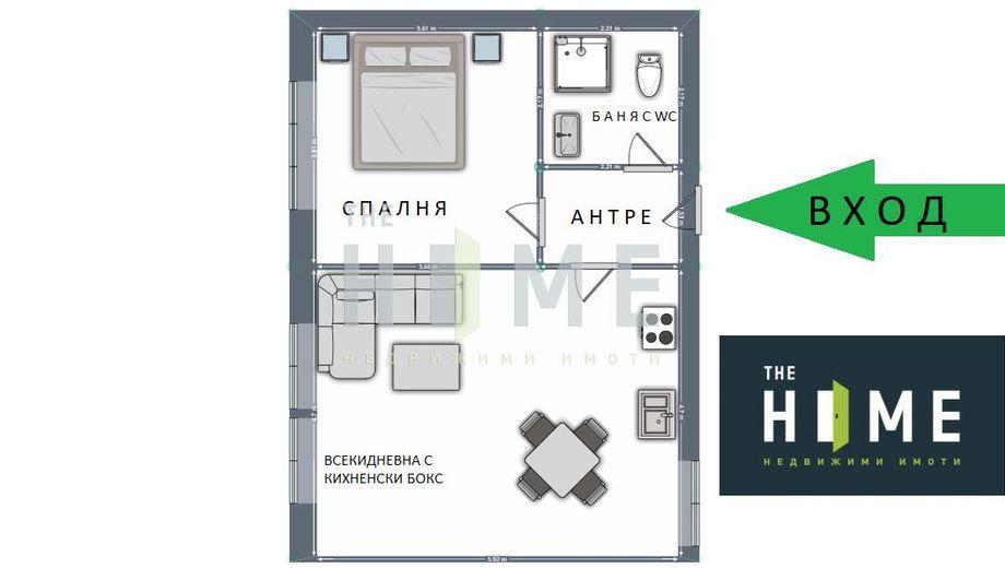 двустаен апартамент софия nlgy44v1