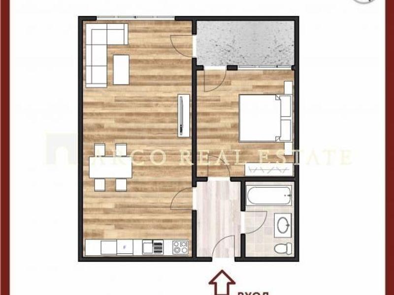 двустаен апартамент софия nlw6c4al