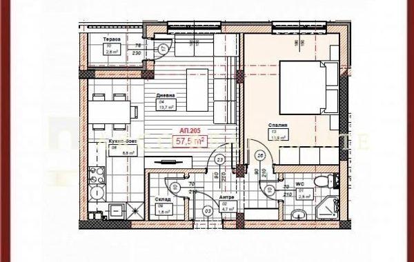 двустаен апартамент софия p7vuuk39