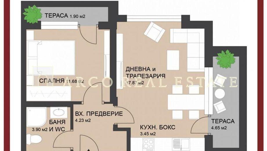 двустаен апартамент софия pxcjq5tv
