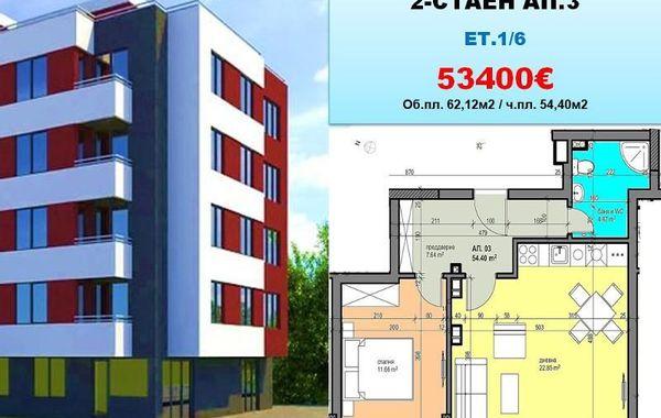 двустаен апартамент софия q1ml1bef