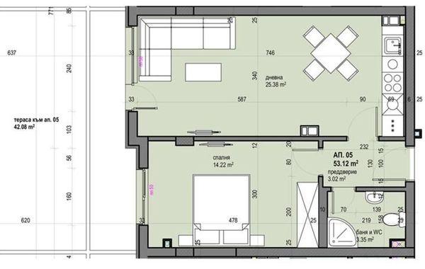 двустаен апартамент софия q8eeetp4