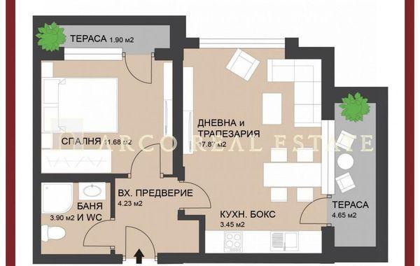 двустаен апартамент софия qbn5sbmw