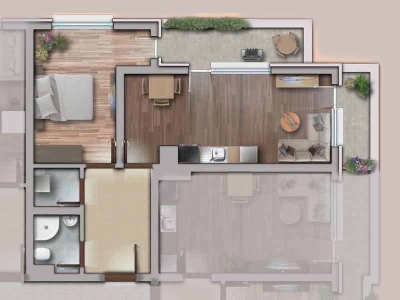 двустаен апартамент софия qf2bxysn