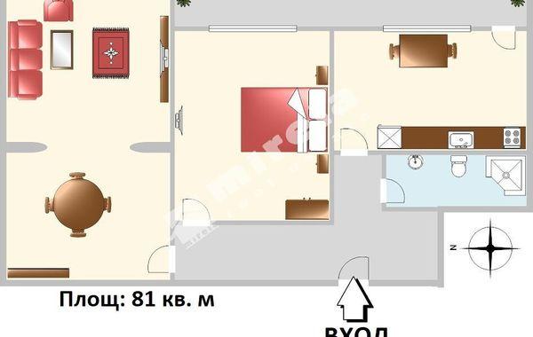 двустаен апартамент софия r5uksauu