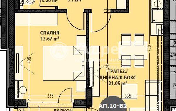 двустаен апартамент софия rua55671