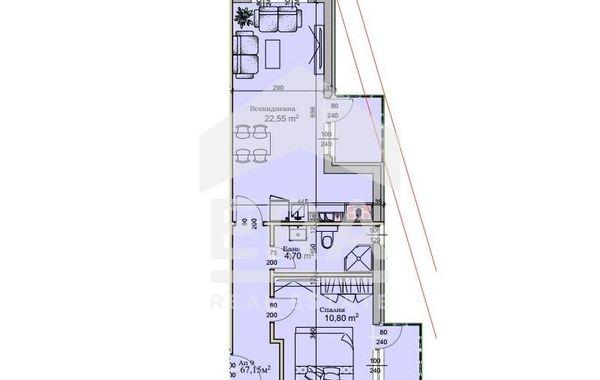 двустаен апартамент софия s7r41gjg