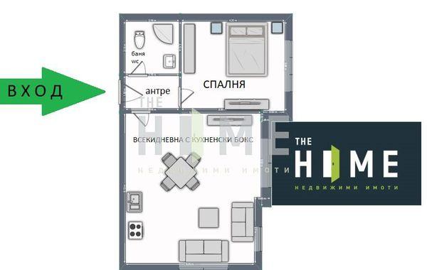 двустаен апартамент софия suf87m9g