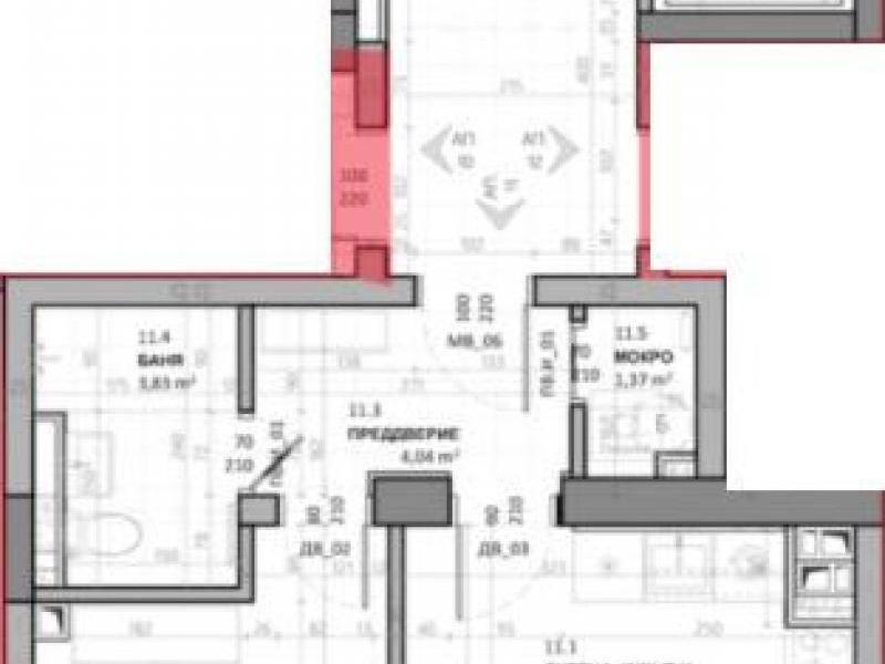 двустаен апартамент софия sxs5p5rp
