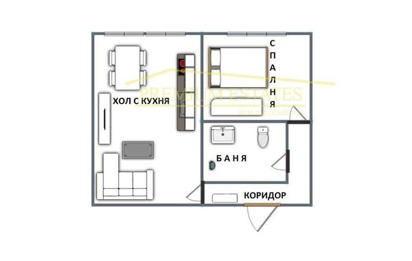 двустаен апартамент софия t6grtmrx