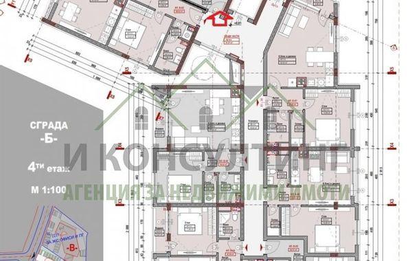 двустаен апартамент софия tdg81449