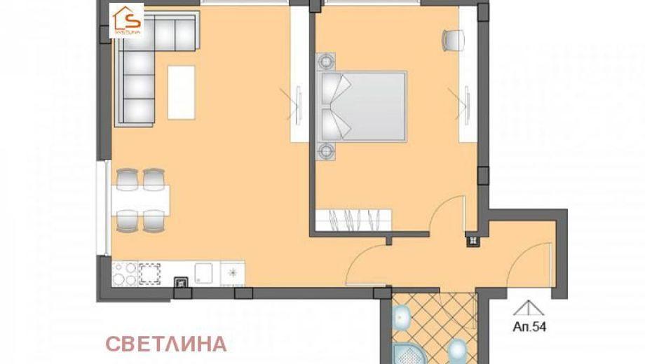 двустаен апартамент софия tf2vmqvb