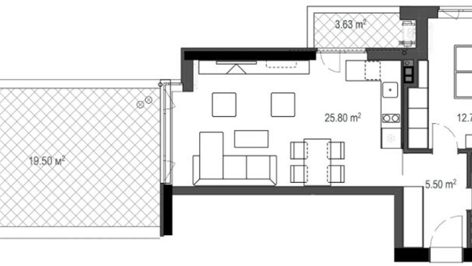 двустаен апартамент софия u39raak7