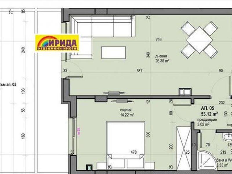 двустаен апартамент софия v5pkdh58
