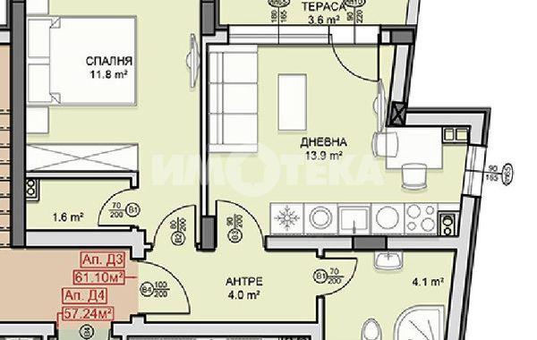 двустаен апартамент софия v6v91q6w