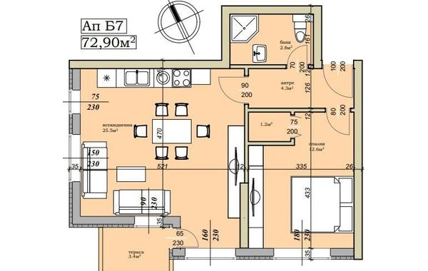 двустаен апартамент софия vb9ylsdc
