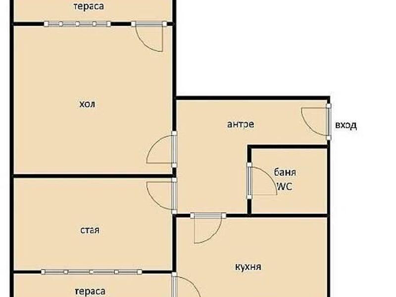 двустаен апартамент софия vtug4u1m