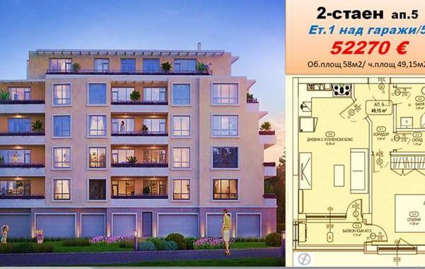 двустаен апартамент софия vv675nsx