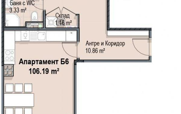 двустаен апартамент софия vwgmyert