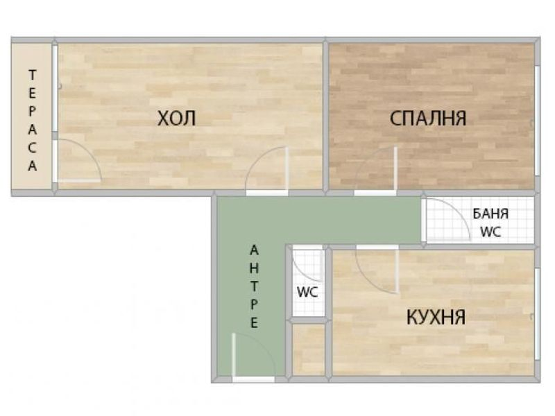 двустаен апартамент софия w7v58x7e