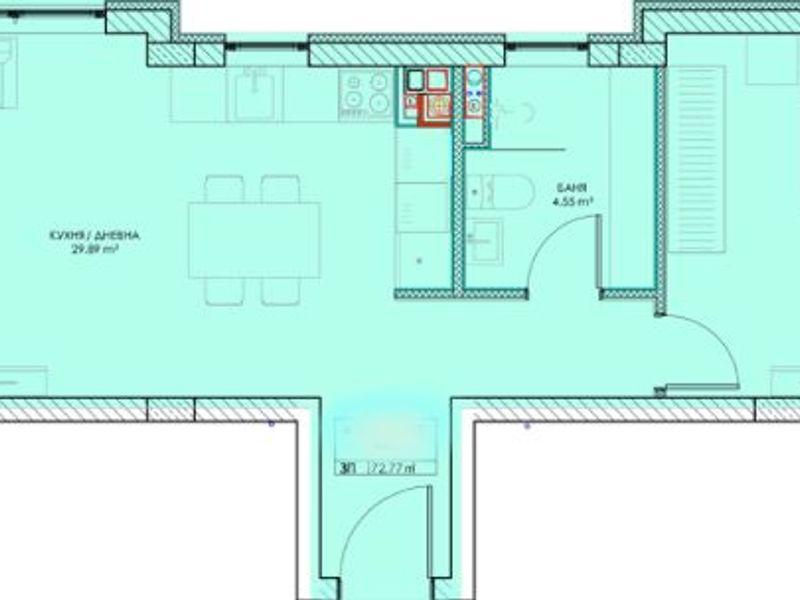 двустаен апартамент софия wvxdj8ak