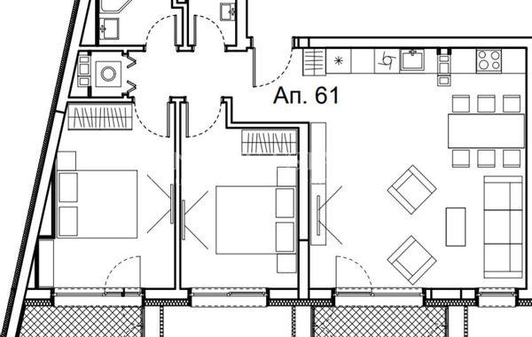 двустаен апартамент софия xpqds7am
