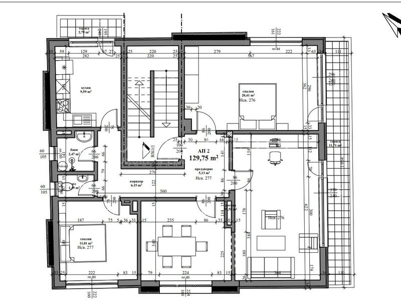 двустаен апартамент софия xr1s8wf5